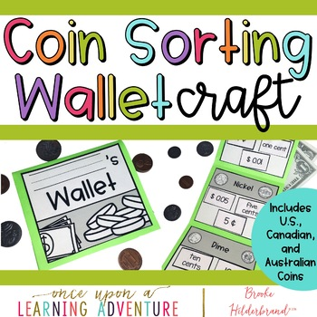 Money Sorting Wallet Craftivity