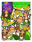 Monkey Business {Creative Clips Digital Clipart}