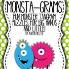 Monsta-Grams Tangram Puzzles