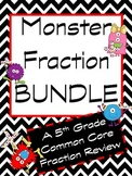 Monster Fraction Review Bundle