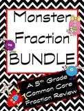 Monster Fraction Review Bundle
