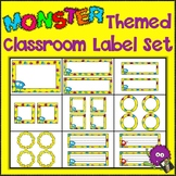Monster Madness!  Monster Themed Classroom Printable Label