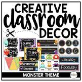 Monster Classroom Theme {The Creative Classroom}
