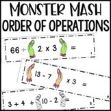 Monster Mash: Order of Operations Math Centers Activities