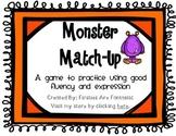 Monster Match-Up: A Fluency Game