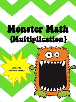 Monster Math {Multiplication}