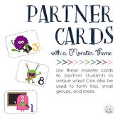 Partner & Group Cards: Monster