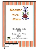 Monster Plural Nouns