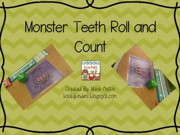 Monster Teeth Roll and Count