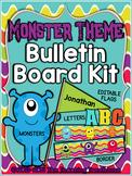 Monster Theme Bulletin Board Kit