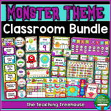 Monster Theme Classroom Bundle
