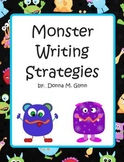 Monster Writing Strategy Posters (Aussie Included)