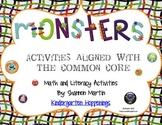 Monsters! Activities aligned with the Common Core