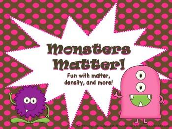 Monsters Matter