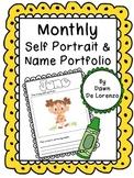 Monthly Self-Portrait and Name Portfolio
