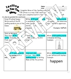 Monthly Spelling Tic Tac Toe Choice Boards