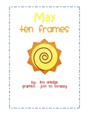 Monthly Ten Frames--May sun