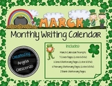 Monthly Writing Calendar - March