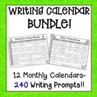 Writing Calendar Bundle