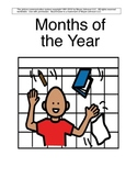 Month's of the Year- Adapted book for Autism