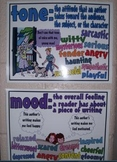 Mood & Tone Explanation/Example Posters