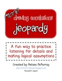 More Drawing Conclusions Jeopardy