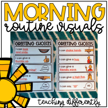 Morning Routine Visuals