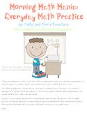 Morning Math Mania: Everyday Math Practice