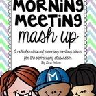 Morning Meeting Mash Up