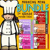 Morning Work: Morning Menu Bundle, The Complete First Grade Set
