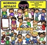 Morning Message Clip Art Bundle