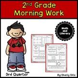 Morning Work for Second Grade-Third Quarter