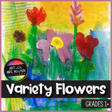 Art Lesson: 'Variety of Flowers' Painting
