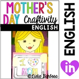 Mother's Day Craftivity and Student Book- English