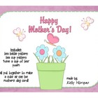 "Mother's Day ""Cup of Tea"" Card!"