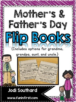 Mother's Day & Father's Day Flip Books