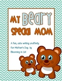 Mother's Day Project, Shape Book Bear Craftivity