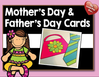 Mother's Day and Father's Day Craft Cards