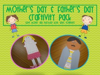 Mother's Day and Father's Day Craftivity Combo Pack