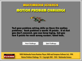 Physics - Motion Problem Challenge Software - Mechanics Ga