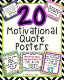 Motivational Quote Posters MEGA BUNDLE