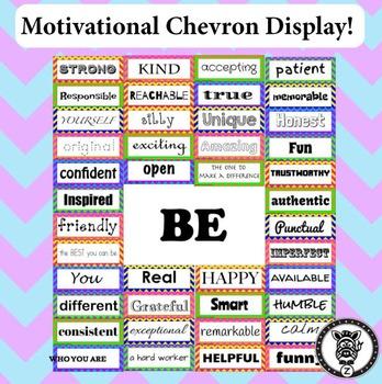 Motivational Self-Esteem Building Door & Bulletin Board
