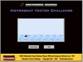 Physics - Motorboat Vector Challenge Software - Mechanics