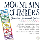 Mountain Climbers: Formative Assessment Posters & Forms