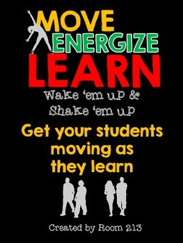 Move/Energize/Learn: reaching kinesthetic, visual and auditory learning styles