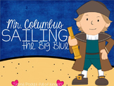 Mr. Columbus Sailing the Big Blue {A Mini Unit on Christop