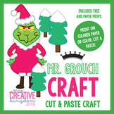 Mr. Grouch Christmas Holiday Craft