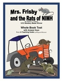 Mrs. Frisby and the Rats of NIMH  Whole Book Test