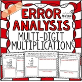 Multi-Digit Multiplication Error Analysis { Center, Enrich