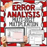 Multi-Digit Multiplication Error Analysis { Center, Enrich